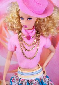 Another common image of a doll that is seen on store shelves.